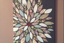 Scrapbook paper art / by Kim Yeager Waters