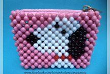 Bolsa de miçangas / Aceito encomendas: bichinhodemicangasecia@gmail.com