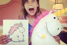 Dziewczyna zamienia najdziwniejsze rysunki dzieci w prawdziwe pluszowe zabawki / Dziewczyna zamienia najdziwniejsze rysunki dzieci w prawdziwe pluszowe zabawki