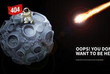 Web Design - 404 Pages / by J Gallardo