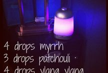 ESSENTIAL OIL BLENDS / by Michelle Myers