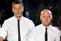 Dolce and Gabbana  / Dolce Sept 13 1958 is from Sicily Italy.  Gabbbana 14 Nov 1962 is from Milan