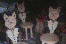 scaun Pisica