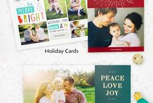 Holiday card photos / Inspiration for beautiful photography of cards.