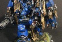 wargaming diorama warhammer 40k / wargaming, diorama, warhammer, warhammer 40k, LOTR, warhammer battle, warhammer minifigures.