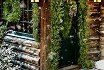 Cabin christmas '17