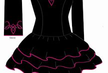 Irish dance dresses