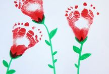 Baby craft activities / Easy craft activities to do at home