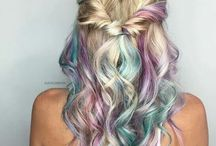 Unicorn hair for summer hols 2018