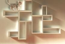 Cat wall shelves