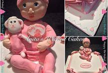 Annabell doll cake