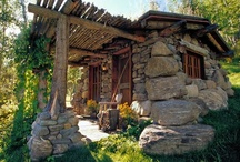 """Fishing Shack / Post a """"Gone Fishing"""" sign and escape to a charming, modest dwelling that fits in to it's environment. / by Indeed Decor"""