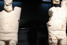 Sardinia Archaeology Giants of Monti Prama / Statues in the Archaeological Museum of Cagliari IX / XI b.C