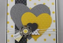 Collections coeurs Stampin'up