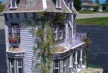 miniatury  domów