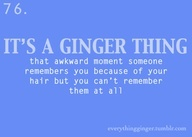 The Ginger in me