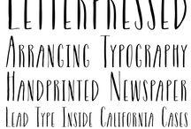 typography / by Hollis Bambling