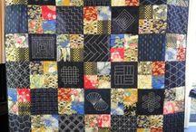 Sashiko quilts