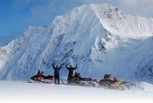 Alaska Snowmobile