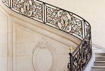 Fabulous staircases / #luxuryweddingplanner #franceweddings #chateauweddingfrance #weddingceremony #weddinginspirations #corporate #event #planner #corporateeventplannerparis #elegant