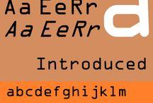 Font Specimen - Monospaced
