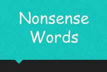 nonsense words / by Mona Litterell