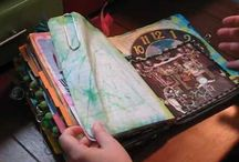 Journal it... / Mixed media pages and journaling