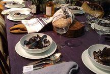 Duka / Duka vackra bord med härliga textilier!