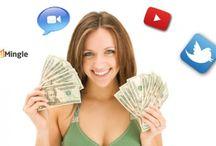 Earn daily on social media