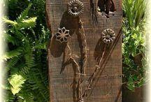 barn wood projects / by Brenda Borchardt- Bardon