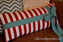 DIY Home Decor | Pretty Pillows / by Beckie Farrant {infarrantly creative}