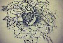 Spider Tattoos / Spider Tattoos / by Tattoo Gallery