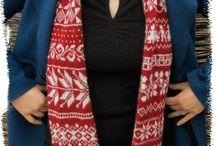 My knitting designs / More info. on my knitting blog www.silkesauen.blogspot.com