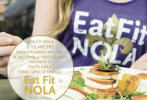 Eating Healthy in America's Most Indulgent City / #LiveFitNOLA Twitter Chat 9/3 with Eat Fit NOLA
