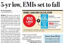 RBI Cuts Interest Rates to 5-yr low EMIs Set to Fall / RBI Cuts Interest Rates to 5-yr low EMIs Set to Fall