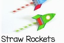 space themed crafts for kids