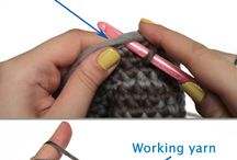 Crochet and knitting tips / por Geneva Bringardner-Deville