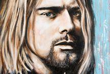 Kurt Cobain and Nirvana♥ / by 💀Wisper Miller💀