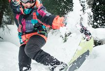 Skis and snowboards / One of the most exciting winter sports!