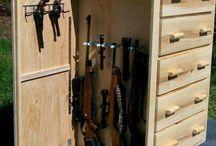 Armários para ocultar armas