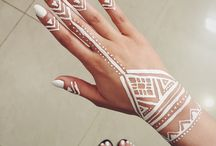 Tribal Style Henna Designs