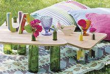 Manualidades y DIY / Reciclar muebles, hacerlos, crear adornos y detalles… y muchas ideas DIY que puedes hacer en casa para decorar con estilo.