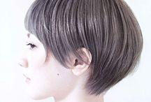 woman hair / 여자 스타일