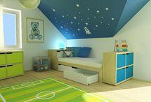 Dětský pokoj pro kluka