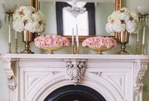 Mantle & Fireplace
