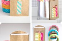 Birthday tags and gift wrap ideas
