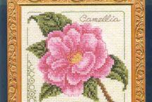 Keresztszemes minták (virágok2)