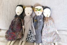 Rag Dolls / A Collection of cute rag dolls by different, but all very talented artists.