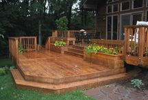 Deck Ideas for the hot tub / this board is for our hot tub deck that we plan to make, ideas I like for it and things I would like to put to on it!  / by Kim Boyette