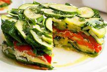 Vegetarian recipes.